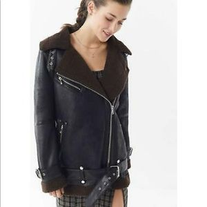 Urban Outfitters Aviator Jacket: Never worn
